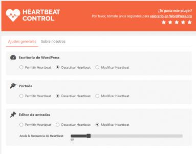 heartbeat control plugin