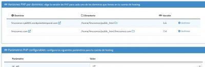 error php