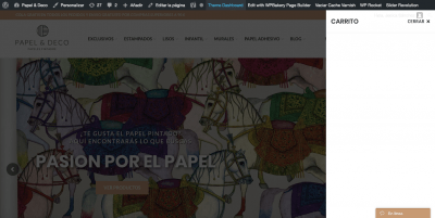 Papel pintado Papel Deco Papeles Pintados Decorativos Online