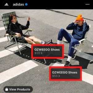 how to set up instagram shopping products