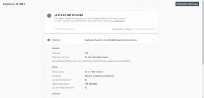 Screenshot 2020 11 26 Inspección de URLs