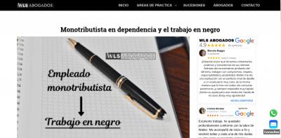 Monotributista en dependencia y el trabajo en negro – WLS ABOGADOS