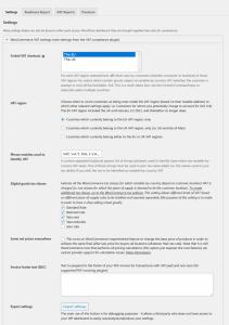 VAT Compliance Web Practica — WordPress