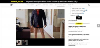 Alejandro Sanz p