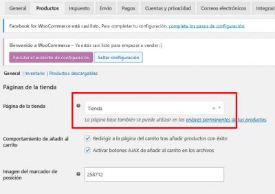 Ajustes de WooCommerce Mamparas anti Covid 19 de vidrio templado — WordPress