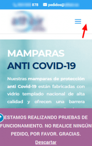 Personalizar Inicio Mamparas anti Covid 19 de vidrio templado(2)