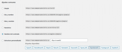 Ajustes de los enlaces permanentes Mamparas anti Covid 19 de vidrio templado — WordPress