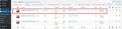 Productos Mamparas anti Covid 19 de vidrio templado — WordPress