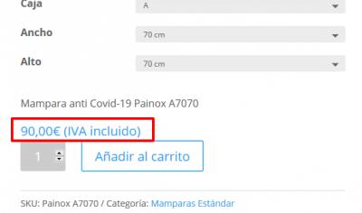 Mampara anti Covid 19 Painox Test Mamparas anti Covid 19 Vidrio Templado