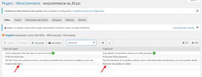Editando woocommerce es ES.po de WooCommerce ‹ Traducción de plugins ‹ Loco Mamparas anticontagio de Vidrio Templado CLON — WordPress(1)