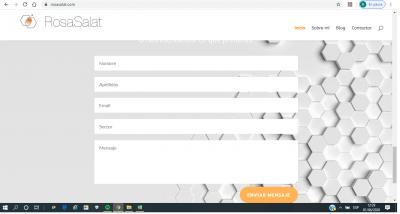 2 vista web de mi formulario antes de cumplimentar