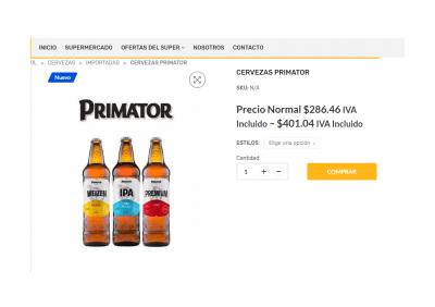 producto primator tienda