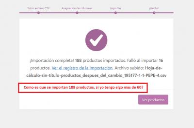 importacion CSV pepe 6