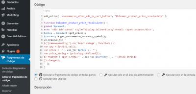 captura para karen foro web empresa code snippets