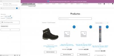 2021 09 07 17 06 49 Personalizar  Productos – outletdemontaña.com