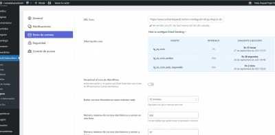 Configuracion envio correos Cron