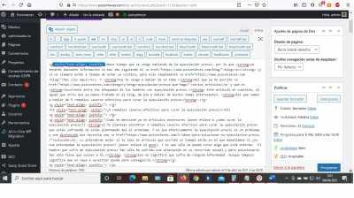 yoast seo html justify