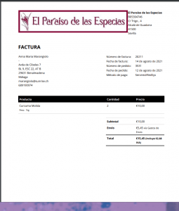 factura pdf