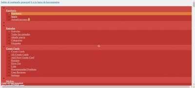 Screenshot of Escritorio   centredux.com — WordPress
