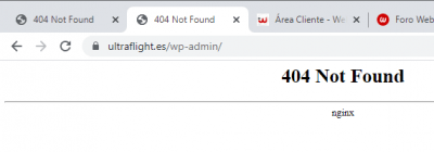 Captura error webempresa