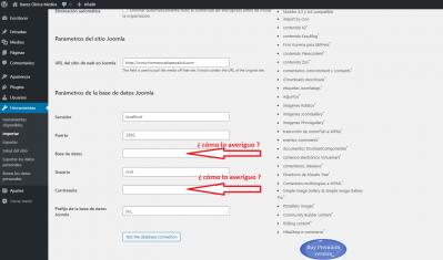 Pasar Joomla a Wordpress