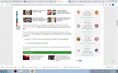 neymar pantallazo tuit