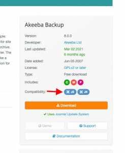 screenshot extensions.joomla.org 2021.09.27 17 38 03
