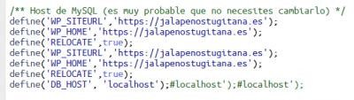 Screenshot 2021 02 08 wp config php Administrador de archivos cPanel v3