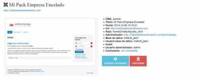 Pack Empresa Encelado Joomla   Aplicaciones Webempresa