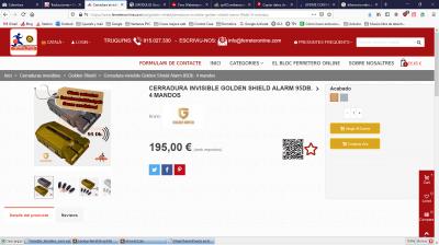 Mismo producto en Catalán, sin descripción