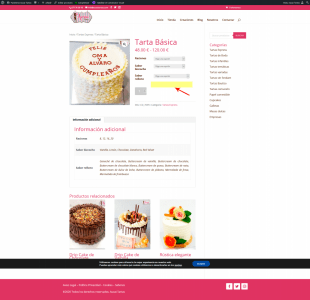 Screenshot 2021 01 16 Tarta Básica Pastelería Auxai Tartas(1)