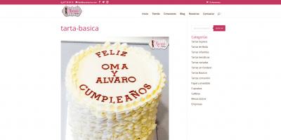 Screenshot 2021 01 17 tarta basica Pastelería Auxai Tartas