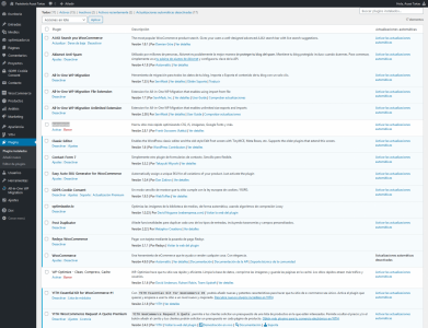 Screenshot 2021 01 18 Plugins Pastelería Auxai Tartas — WordPress(1)