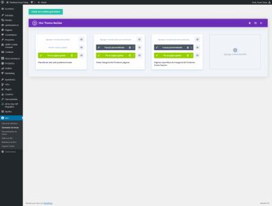 Screenshot 2021 01 18 Generador de temas Pastelería Auxai Tartas — WordPress
