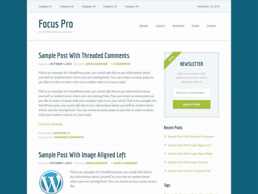 Pack Genesis WordPress