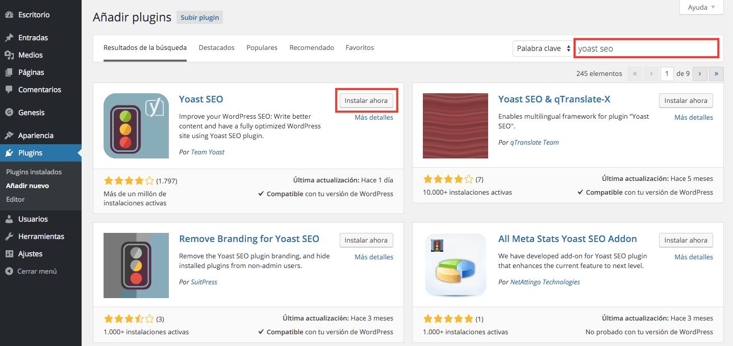 Hablemos de plugins y plantillas para WordPress