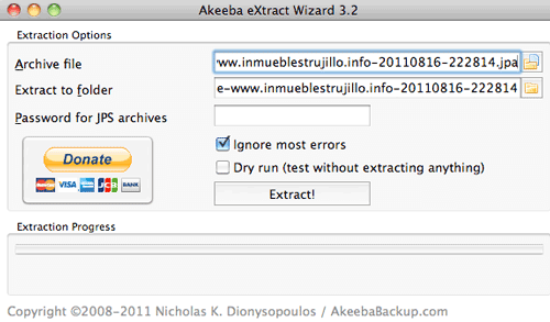 how to use akeeba kickstart