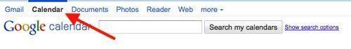 link de acceso a google calendar