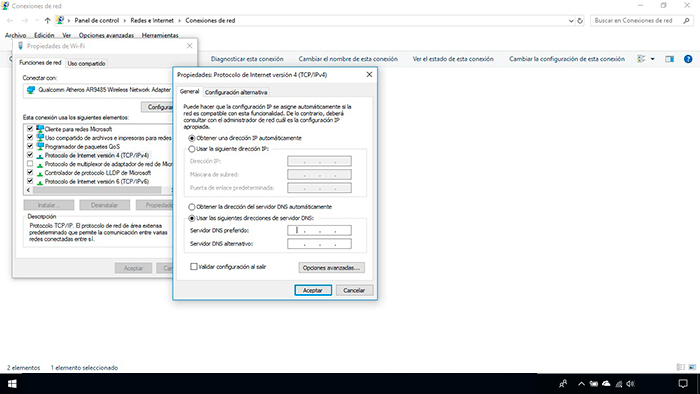 Activar IPv4 en Windows