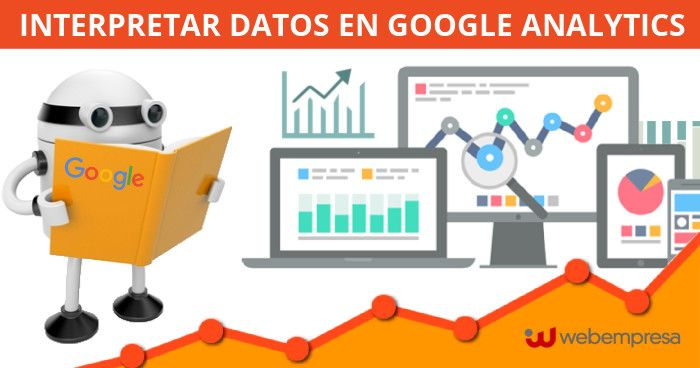 datos en google analytics