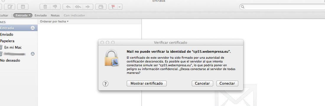 Configurar Cuentas De Correo En Mail Mac Os X