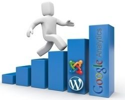 Google Analytics en Joomla! y WordPress