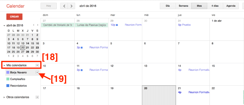 Cómo añadir Google Calendar en WordPress