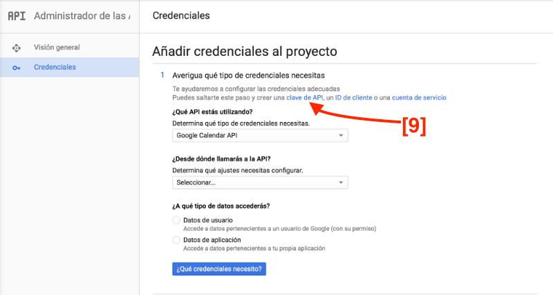 añadir Google Calendar a tu blog