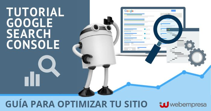 tutorial de google search console