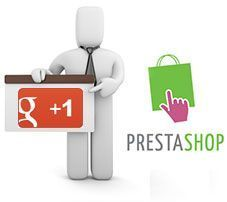 Badges de Google Plus en PrestaShop