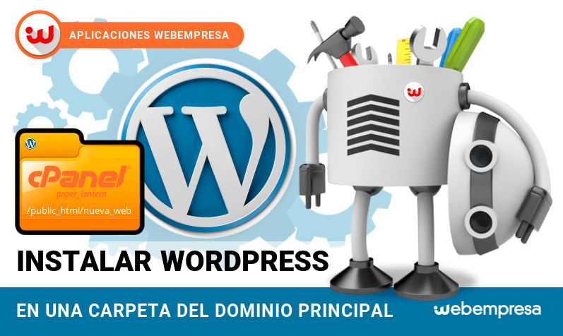 Instalar WordPress fácilmente