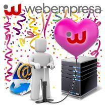 Hosting con Webempresa