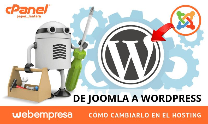 Cambiar de Joomla a WordPress