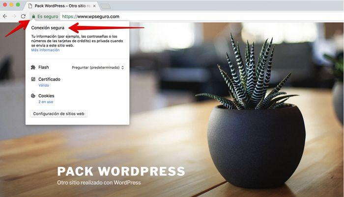 Sitio con HTTPS